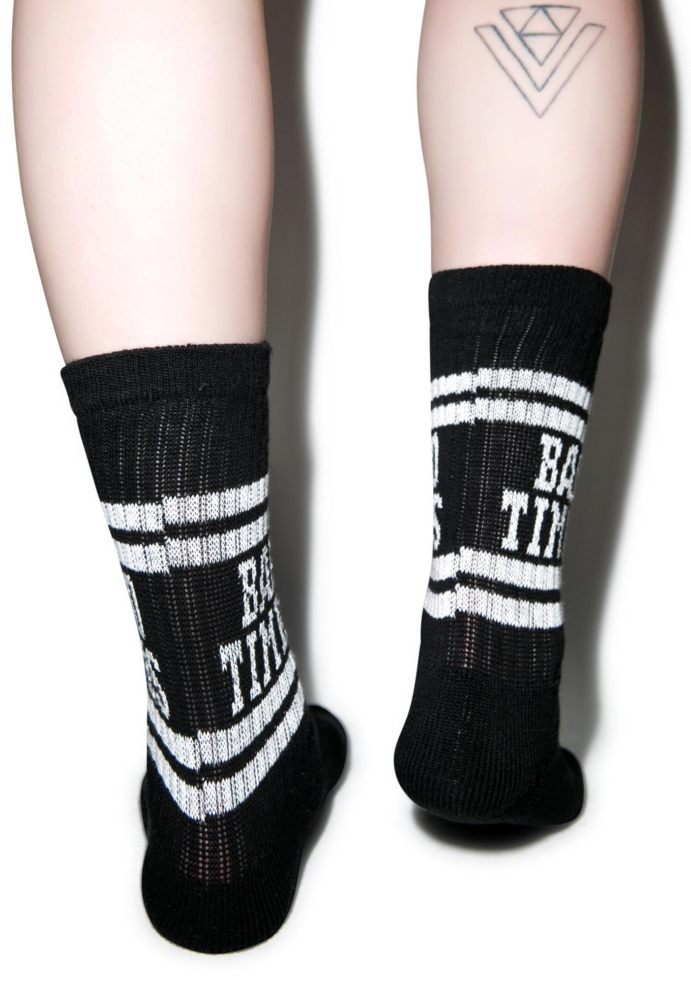 Lazy Oaf Good Times Tube Socks