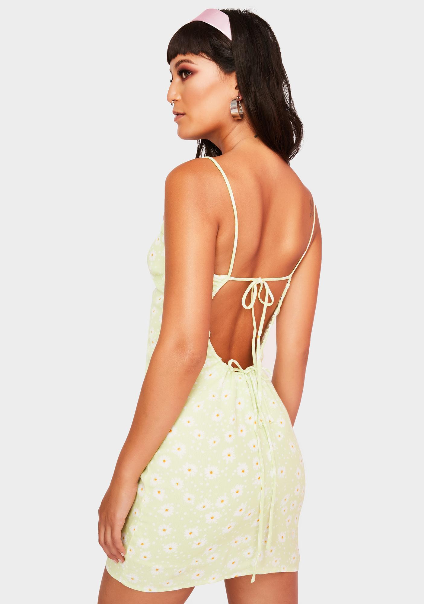 Blushing Daisies Mini Dress
