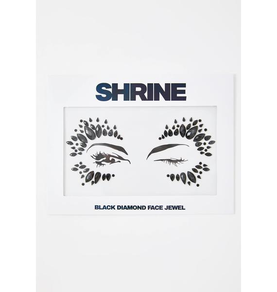 SHRINE Black Diamond Face Jewel