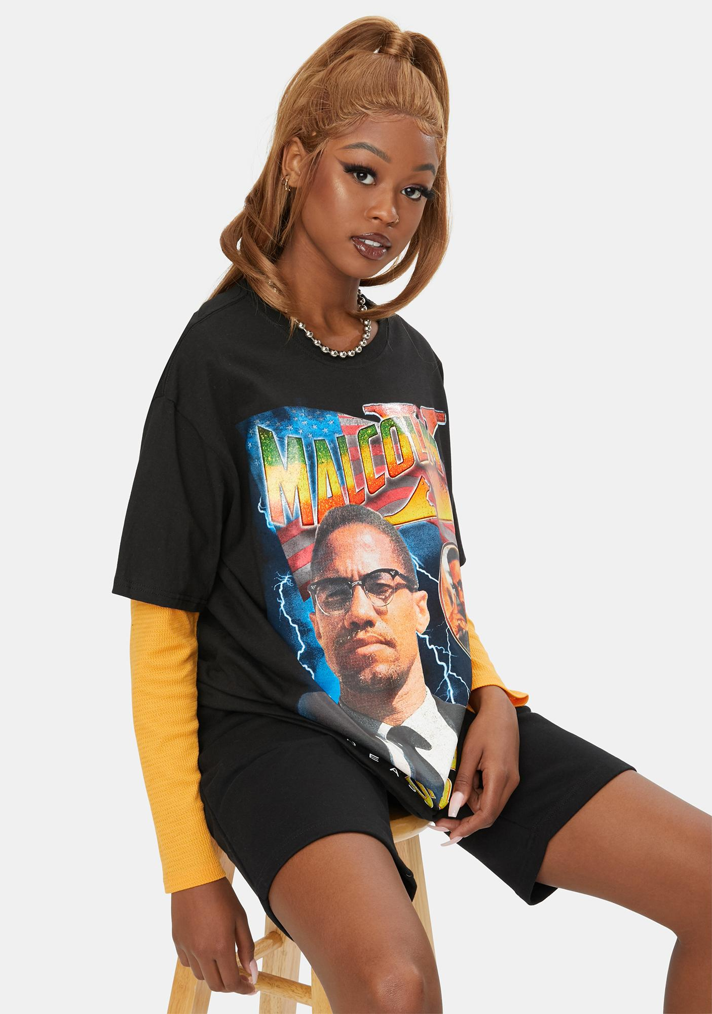 Reason Malcolm X Respect Graphic Tee