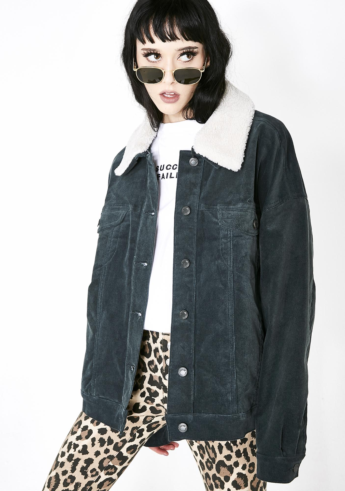 Lazy Oaf X Daria Sick Sad World Jacket Dolls Kill Black Blazer Jaket Korea Style Sk 15