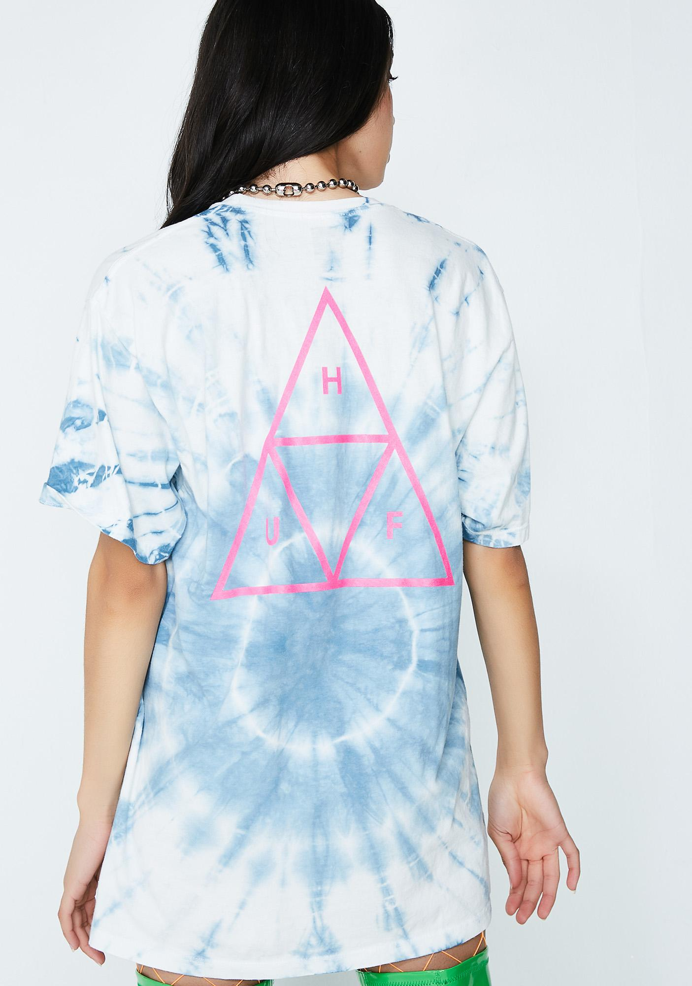 HUF Washed Triple Triangle Tee