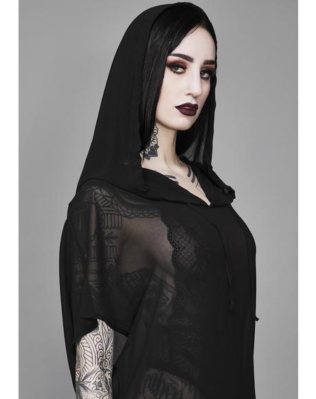 Aphotic Priestess Chiffon Tunic