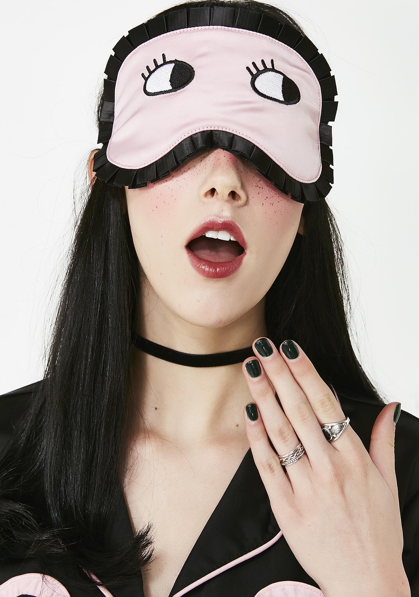 Lazy Oaf Eyes Wide Shut Mask
