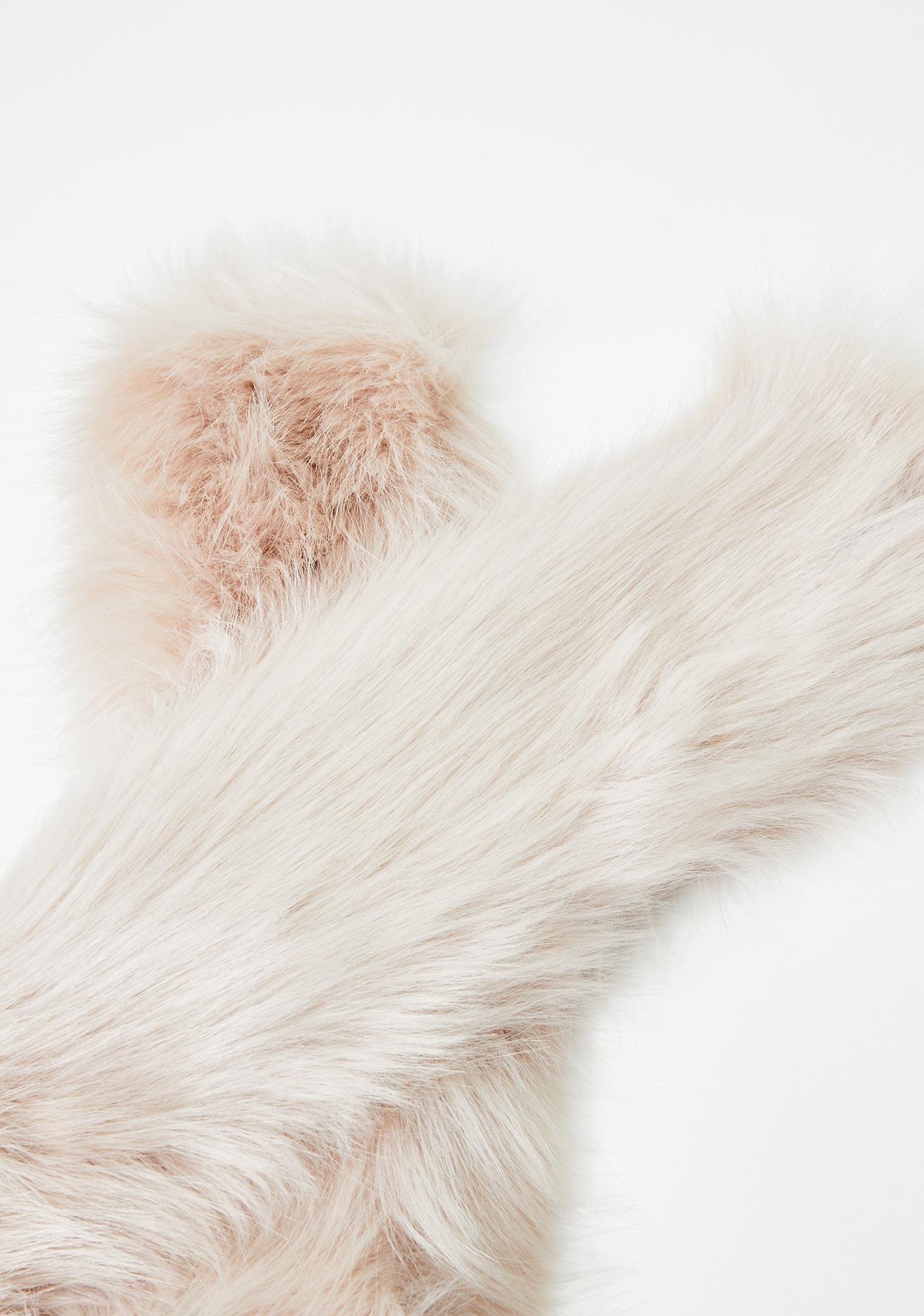 Diva Life Faux Fur Scarf