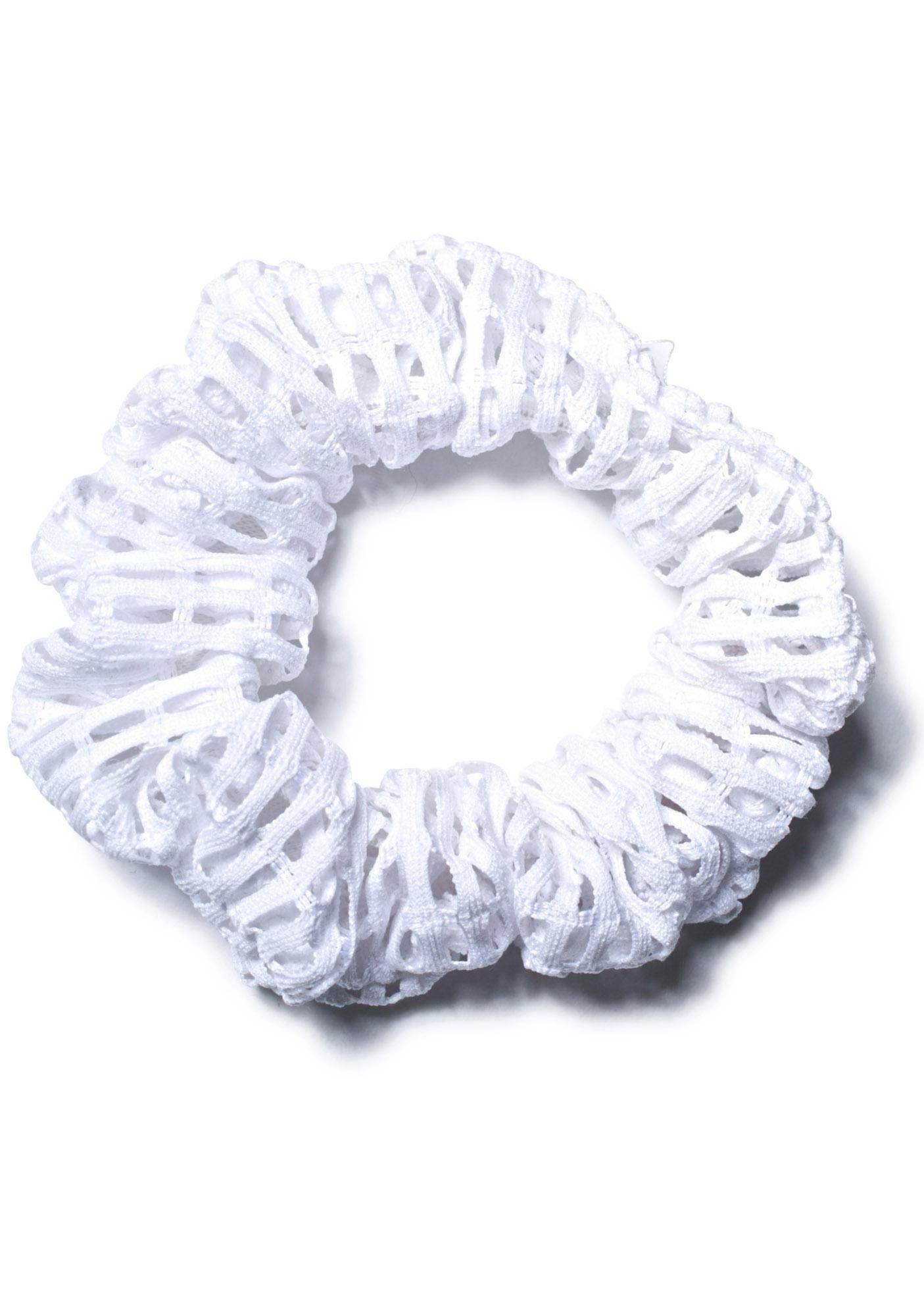 Hot!MeSS Mesh Scrunchie