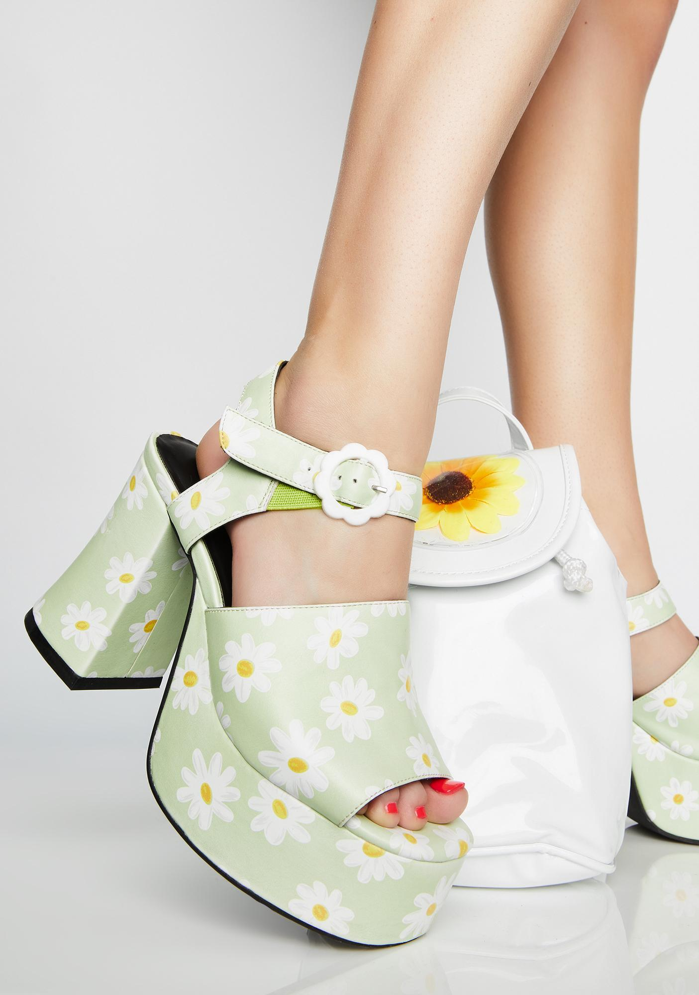 delias shoes platform