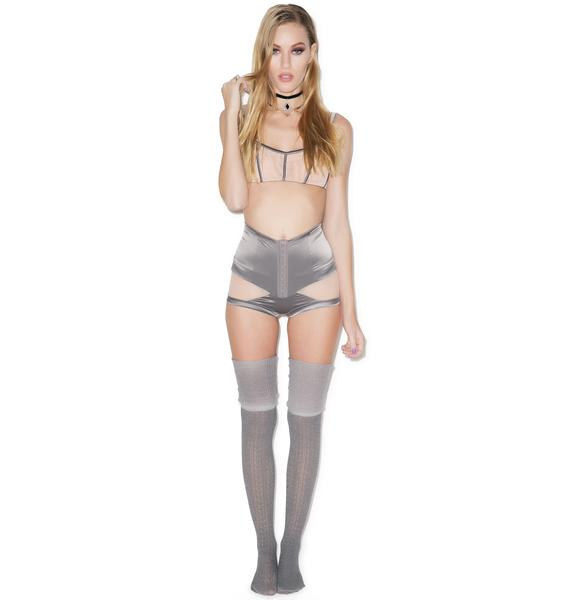 Love Haus Stripe Illusion High Waist Panty