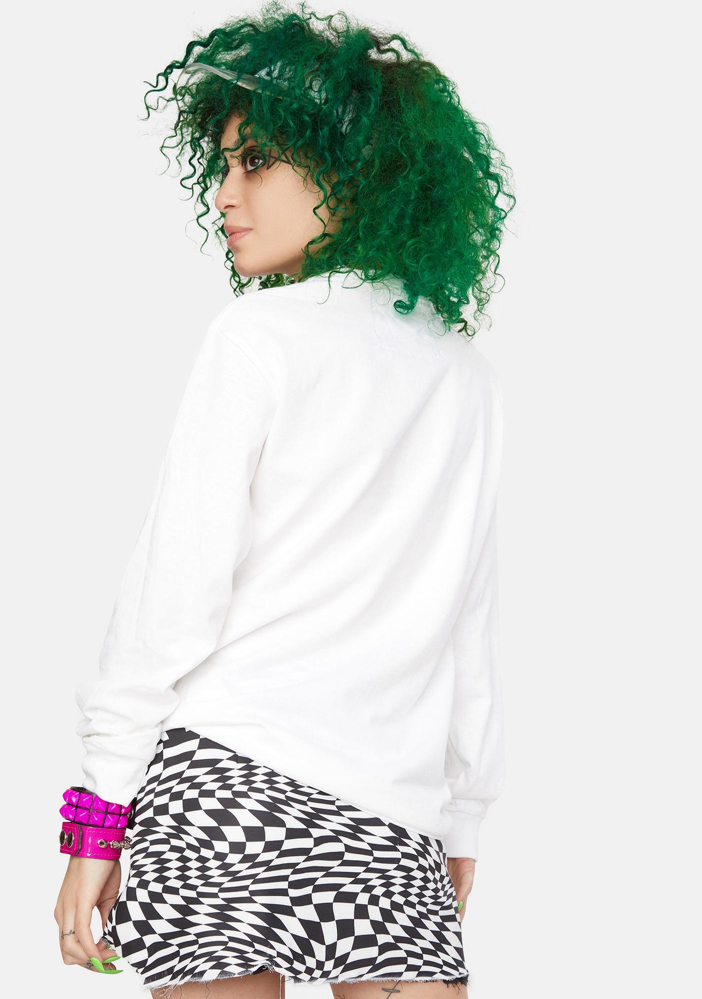 Marsanne Brands Tysm Long Sleeve Graphic Tee