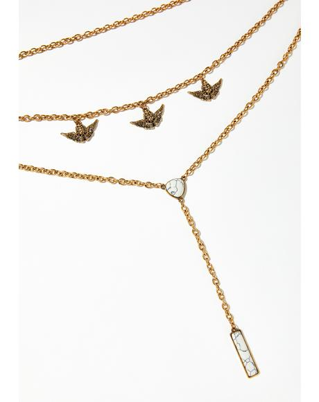 Heir To The Throne Lariat Choker