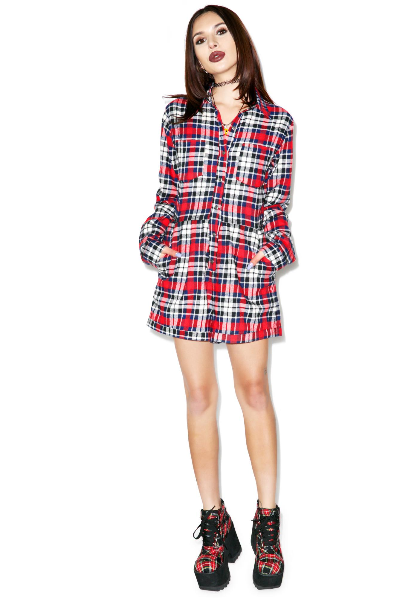 Evil Twin Big Wednesday Playsuit