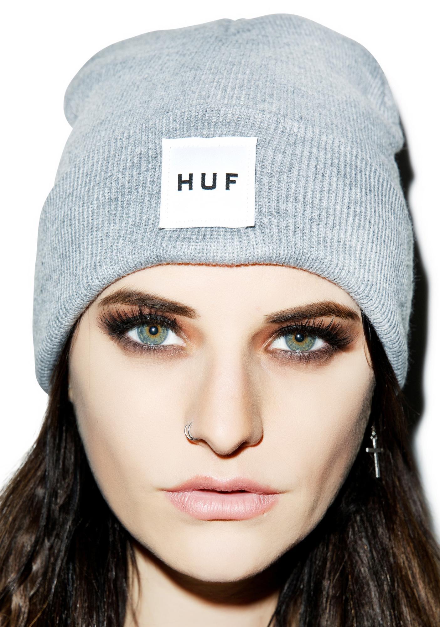 HUF Box Logo Beanie