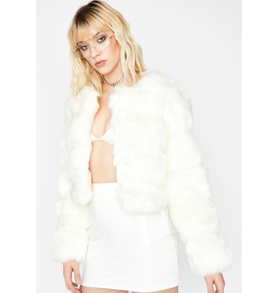 Spoiled Sweetheart Faux Fur Jacket