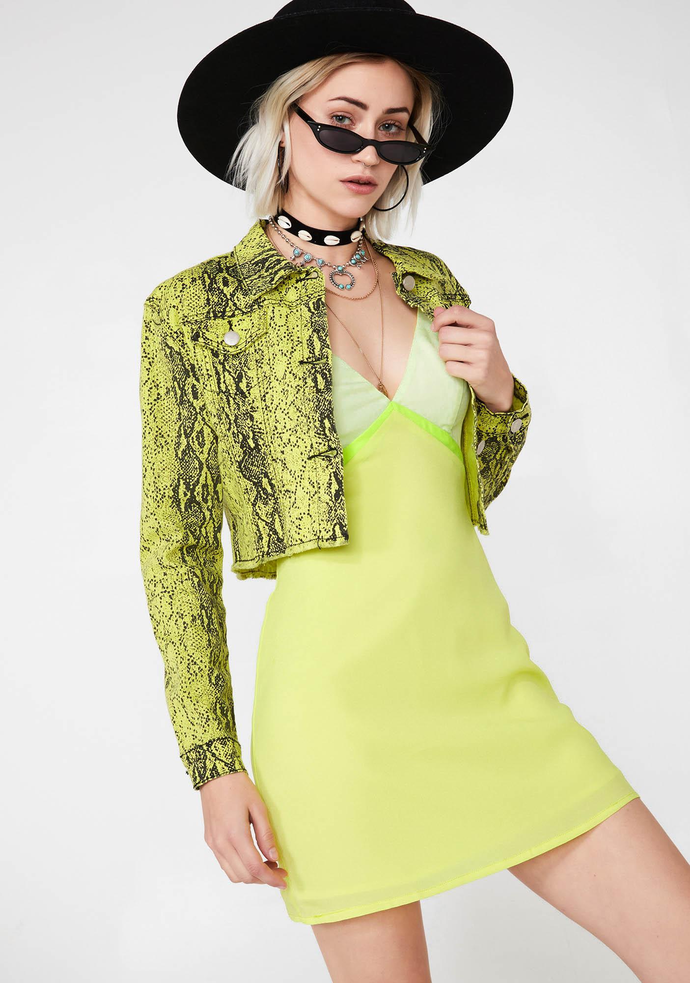 Solar Mystic Manifest Mini Dress