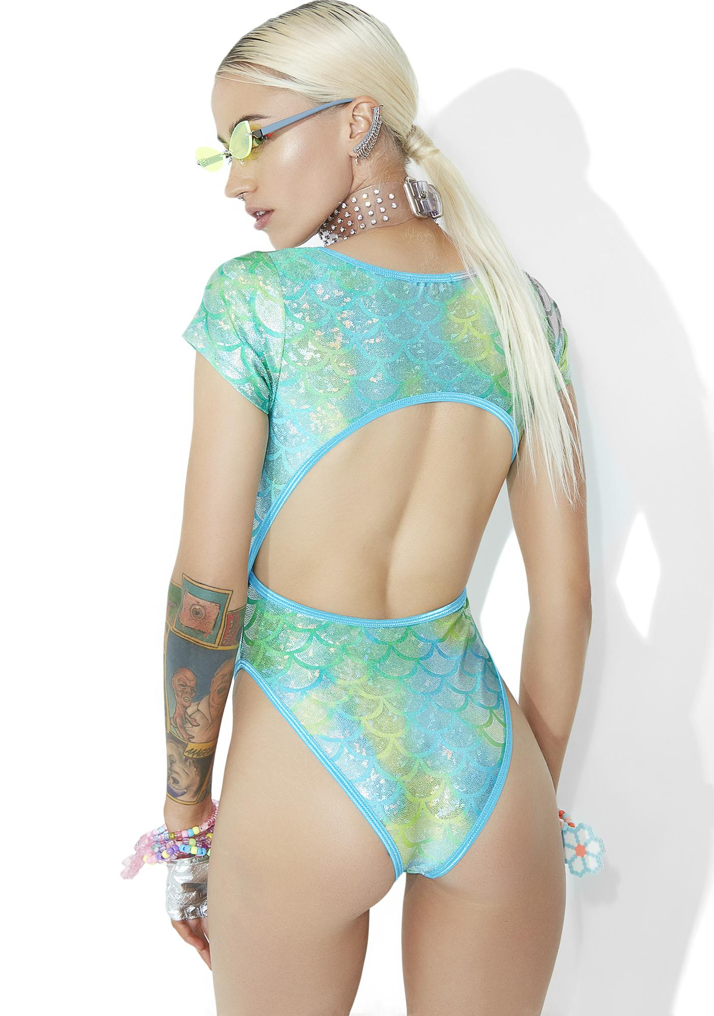 Club Exx Reef Queen Cutout Bodysuit