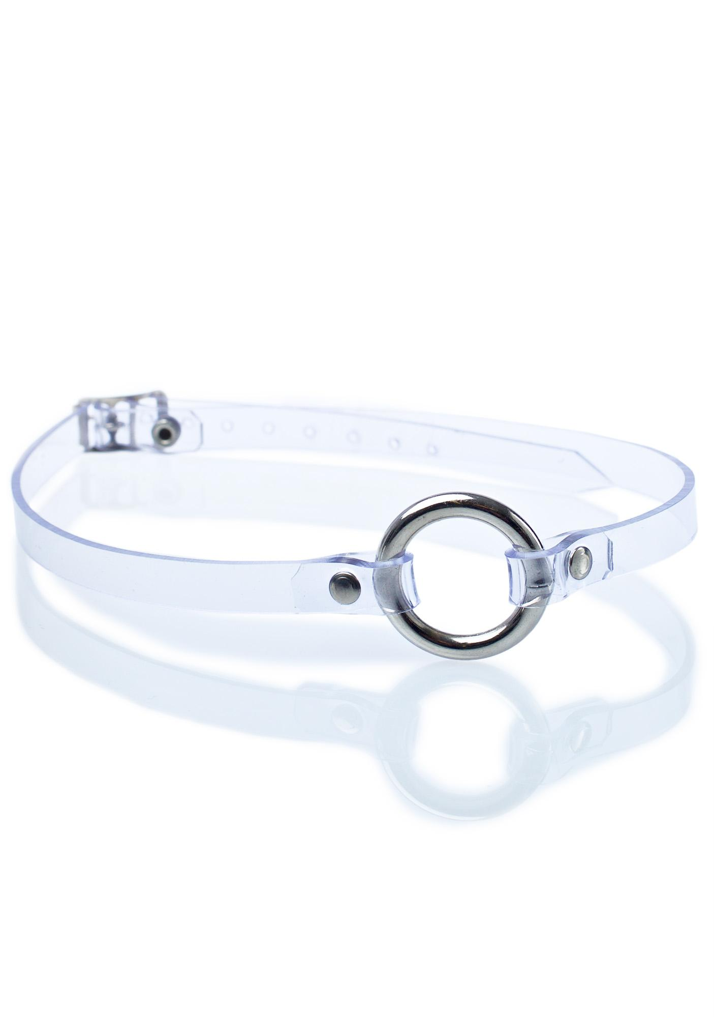 Club Exx Clearly Content O-Ring Choker