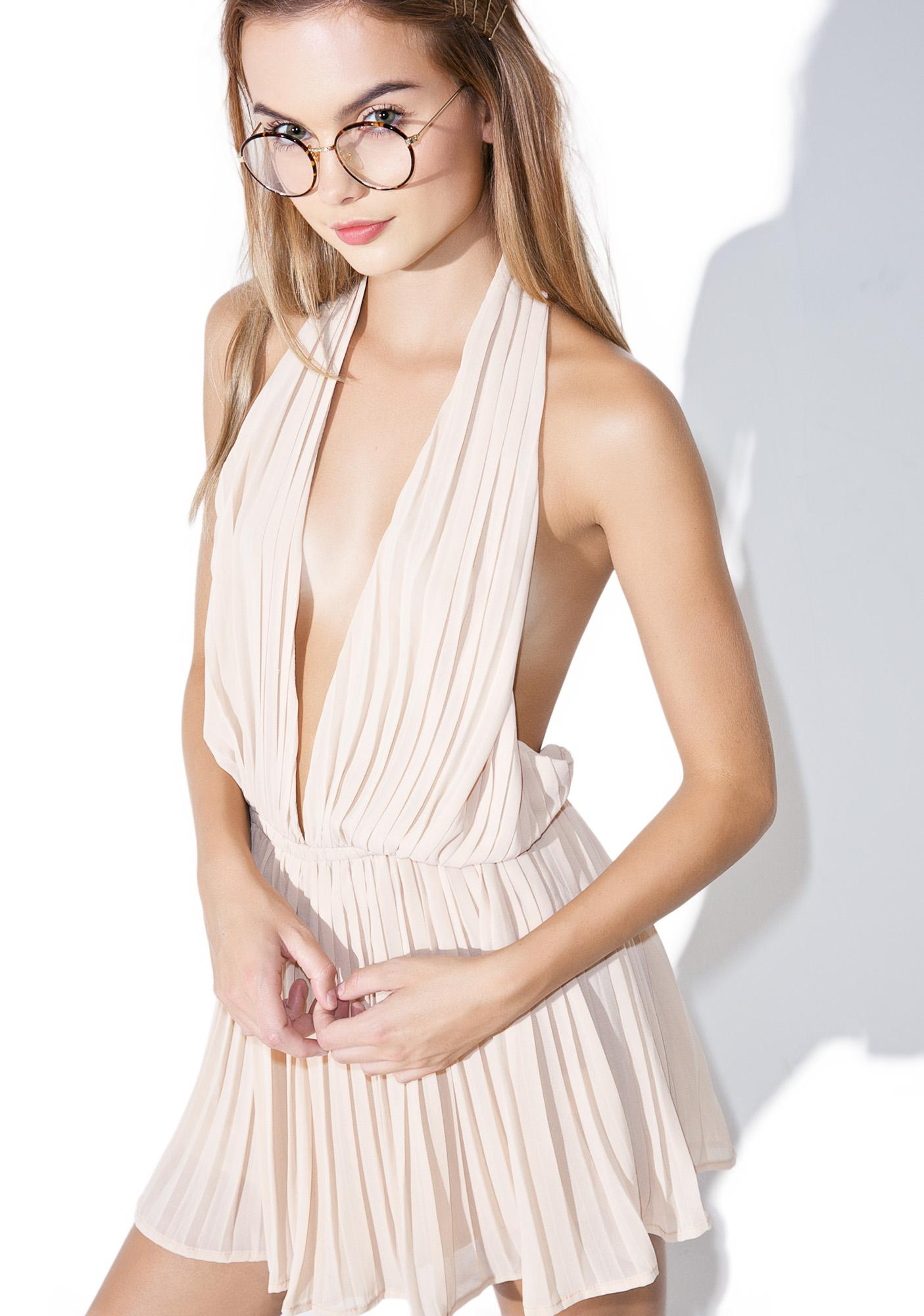 Piazza Pleated Romper