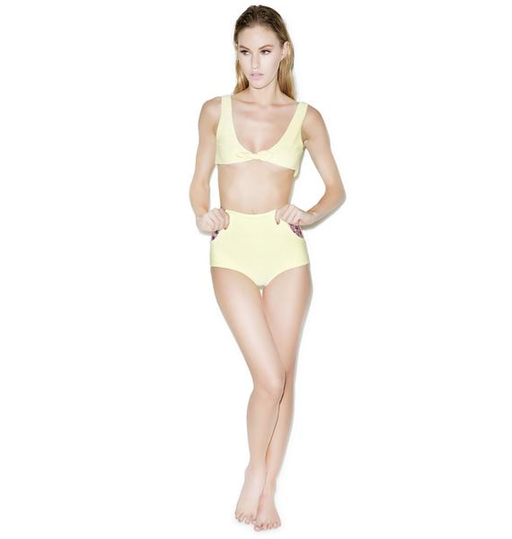 Lolli Swim Fruit Stand High Waisted Bottoms