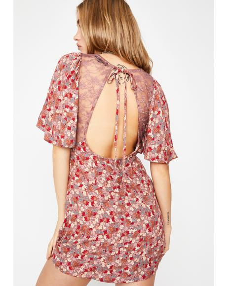 Sweet Love Too Good Floral Dress