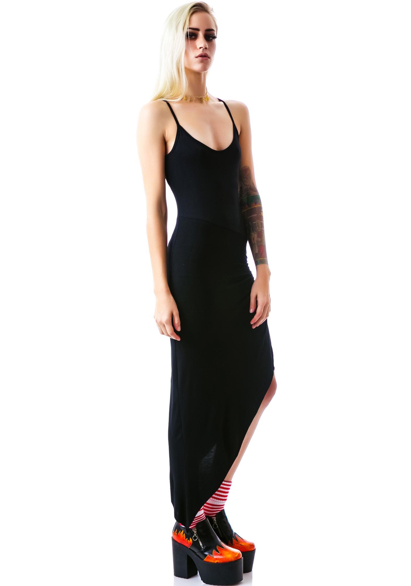 Black to Basics Maxi Dress