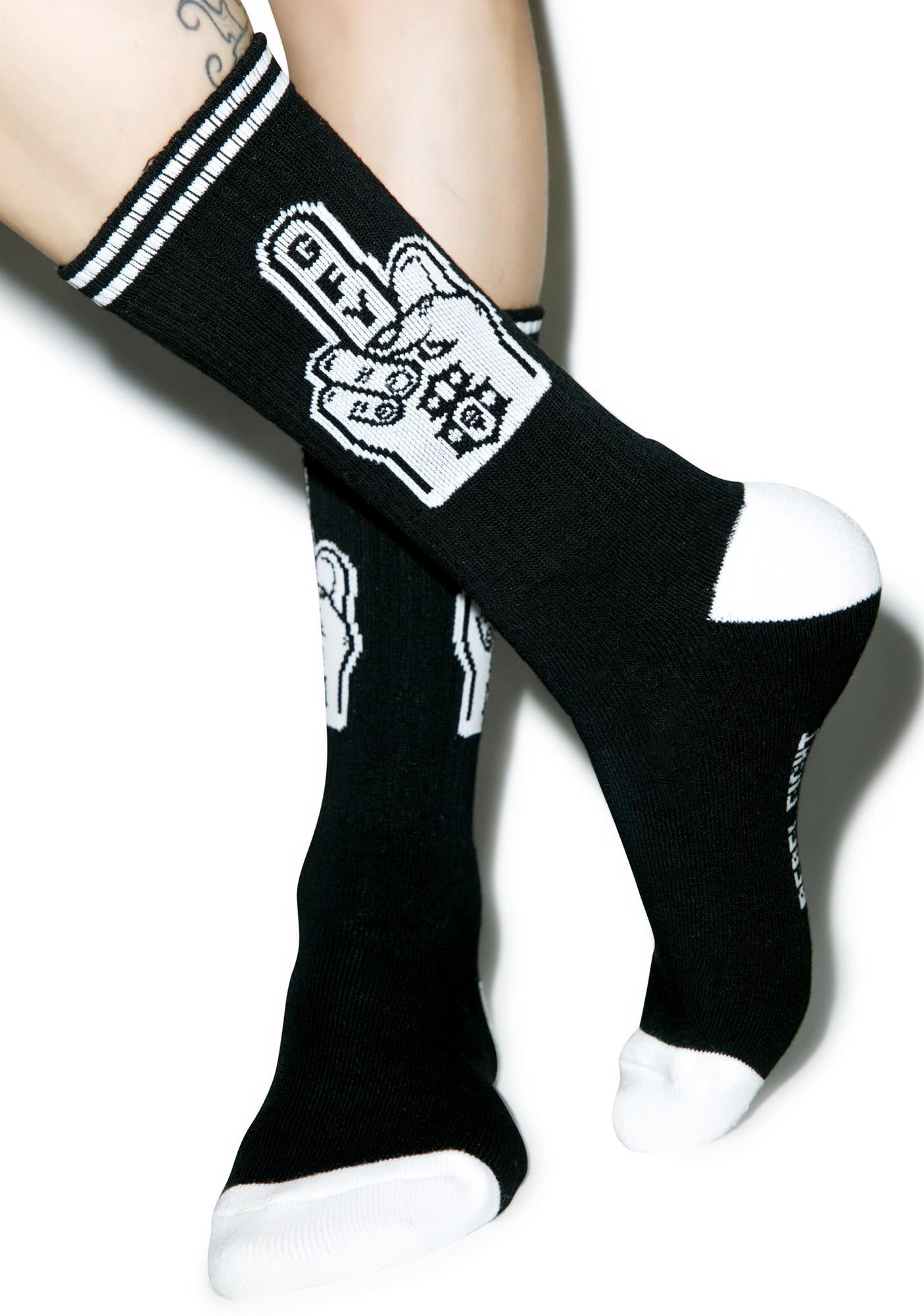 Rebel8 Go Fuck Yourself Socks