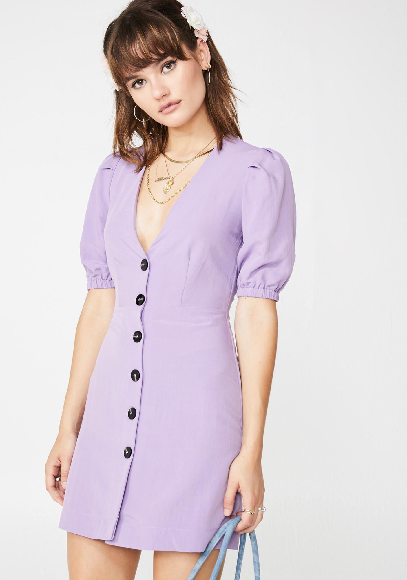 Class Angel Button Down Dress