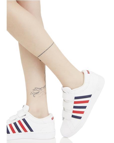 Hoke 3 Strap Sneakers