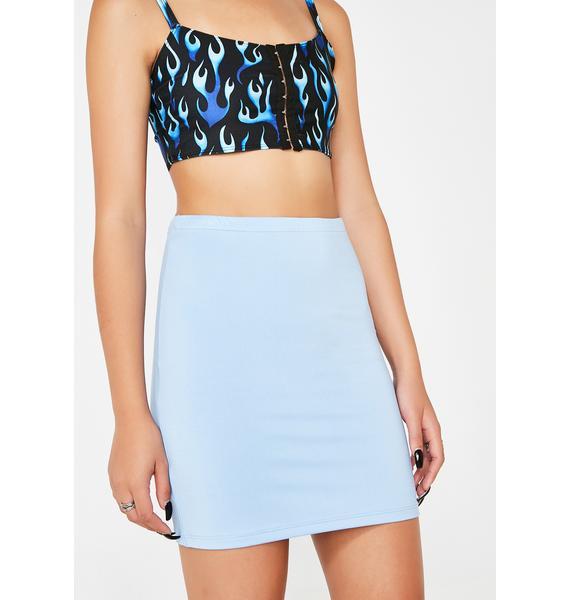 Kiki Riki Sky Slay Machine Mini Skirt