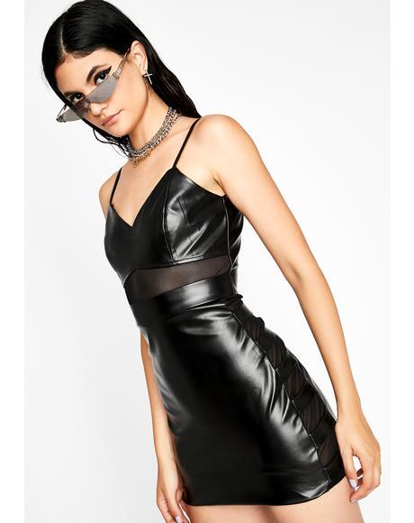 Real Or Fake Mini Dress
