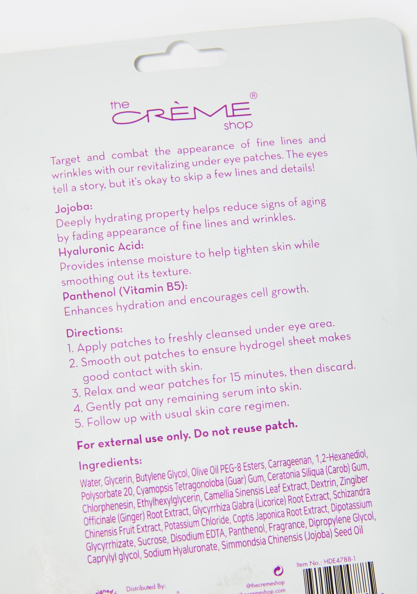 The Crème Shop How Do Eye Look Vibrant Eye Patches