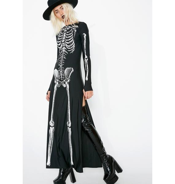 Dolls Kill Bone-afied Babe Costume