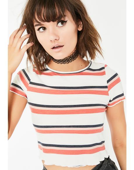 Young Rebel Stripe Top
