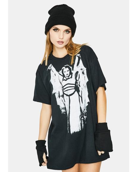 Lily Munster Wings Graphic Tee
