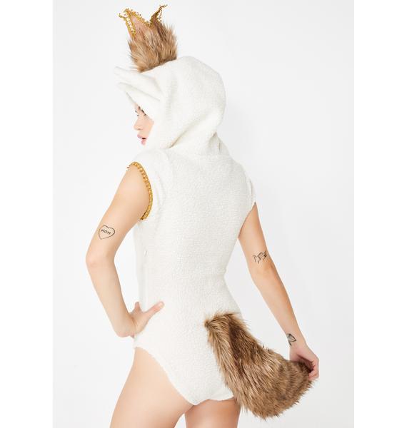 Dolls Kill Queen Mischief Bodysuit Costume