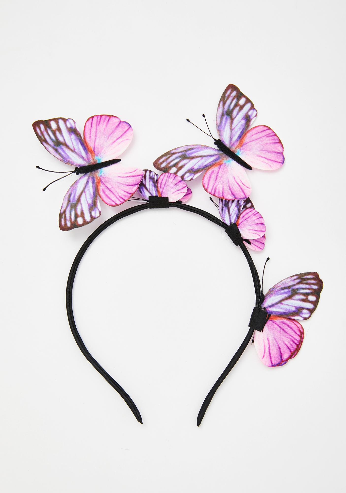 Flutter Faerie Butterfly Headband
