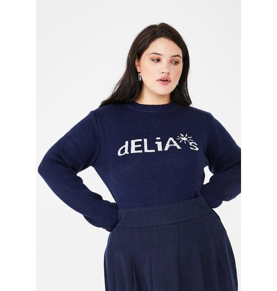 dELiA*s by Dolls Kill Ur Double Scoop Of Delias Sweater