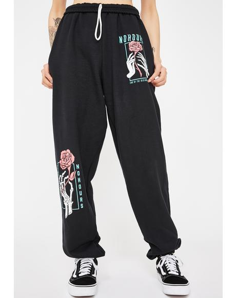 End Of Graphic Sweatpants
