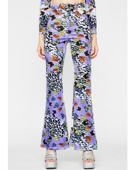 Lilac Wild Fusion Flared Pants
