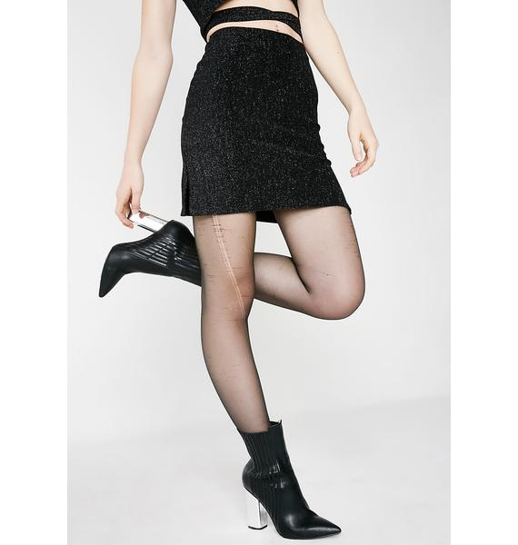 American Deadstock Cyber Me Mini Skirt