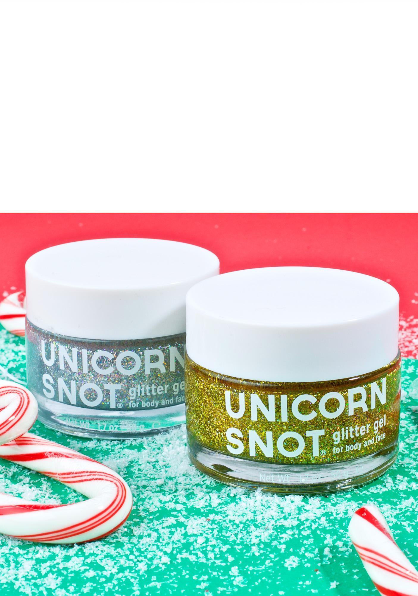 Unicorn Snot Gold Glitter Gel