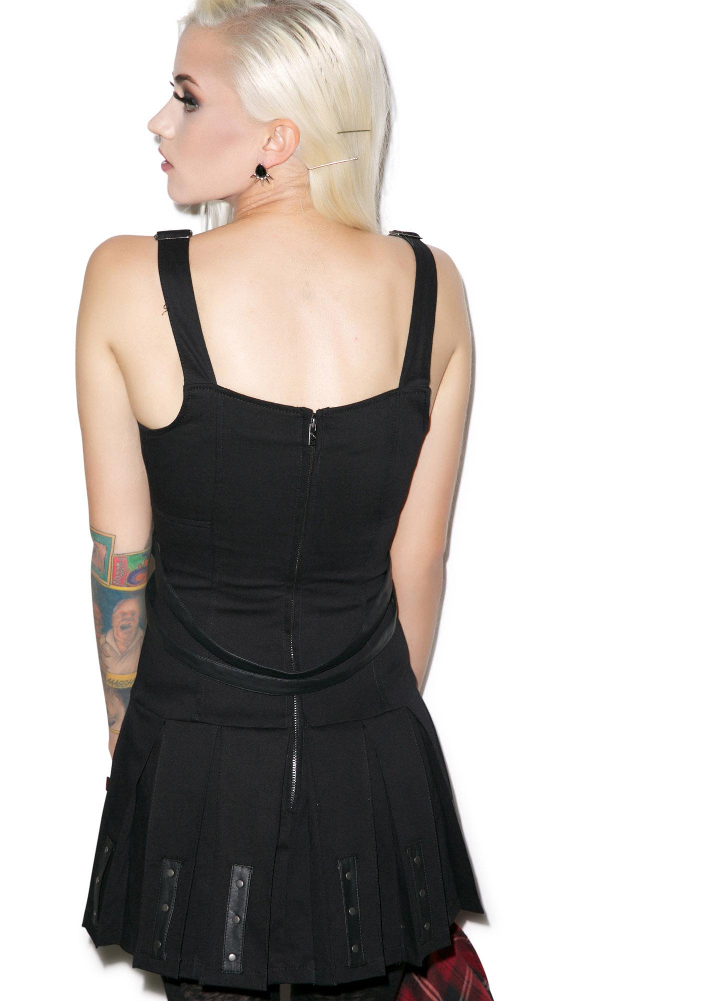 Tripp NYC I'm Into Suspenders Dress