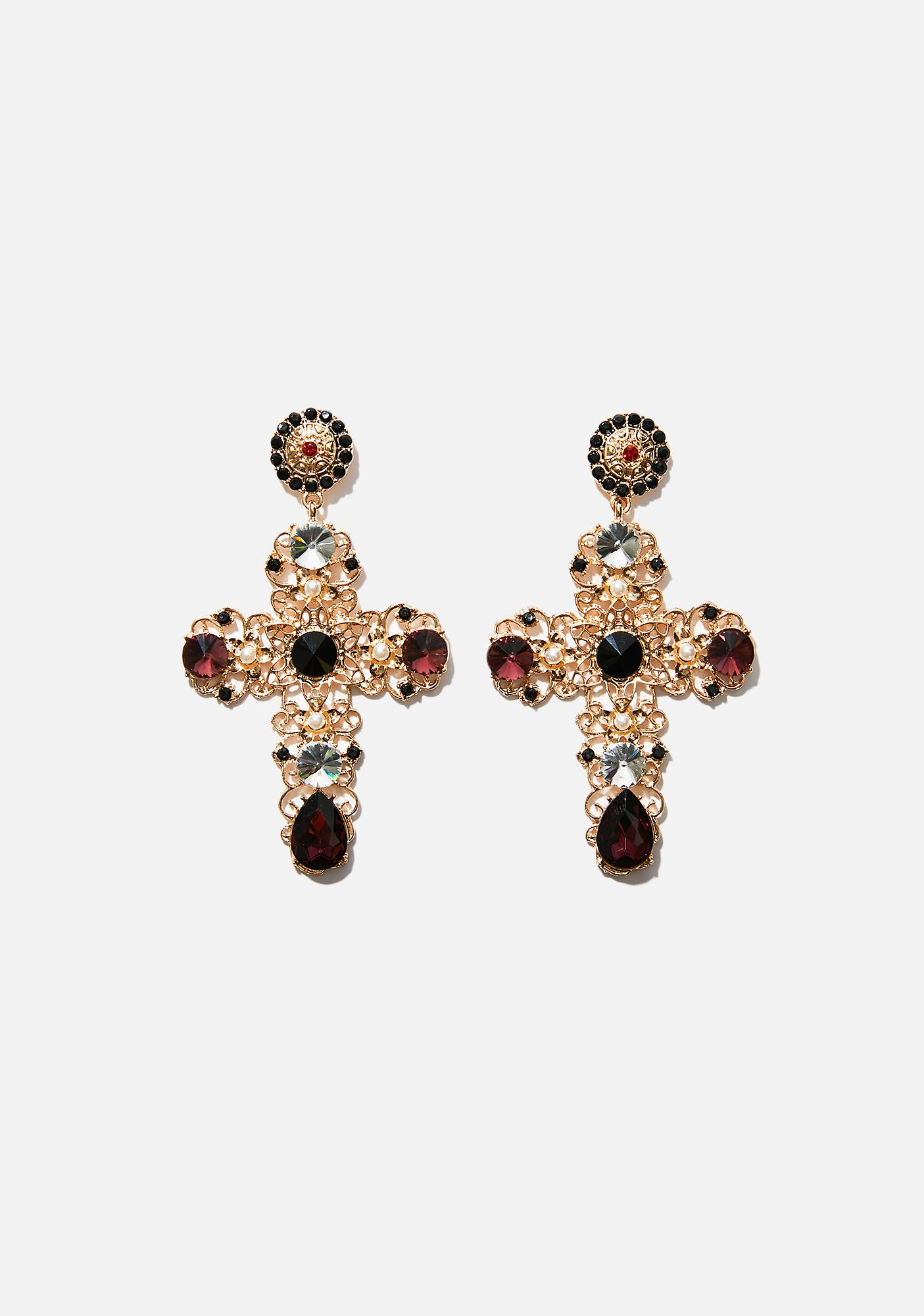 Not Holy Cross Earrings