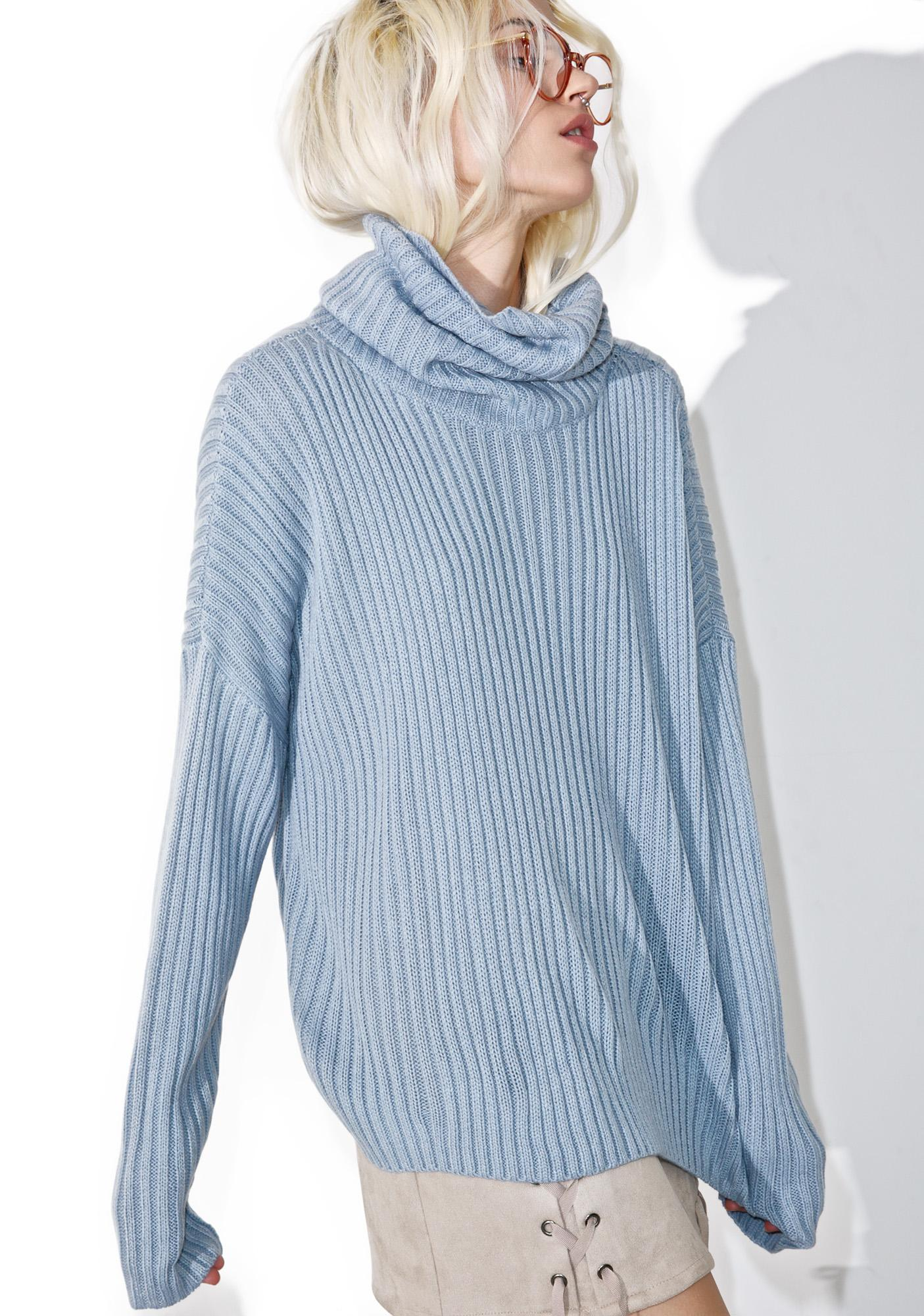 Morning Glory Turtleneck Sweater