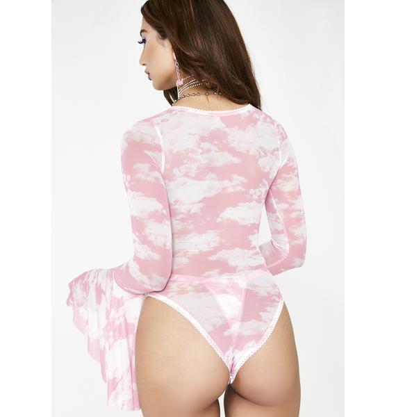 Sugar Thrillz Bliss Vision Sheer Bodysuit