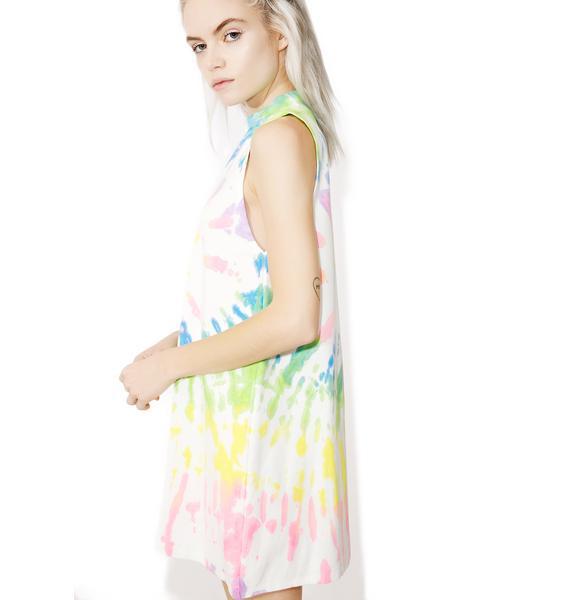 Rainbow Haze Tank Dress