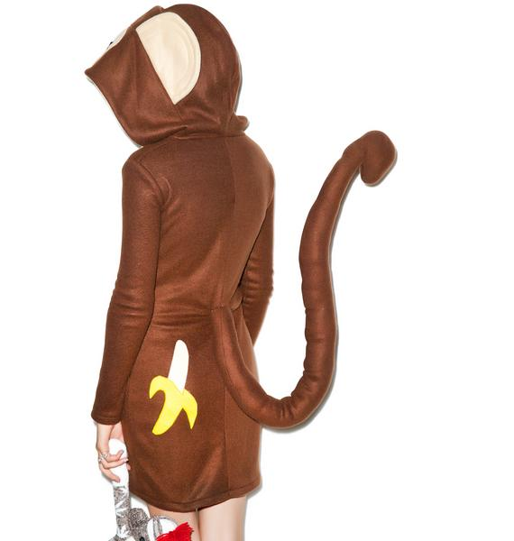 Monkeying Around Hoodie Costume