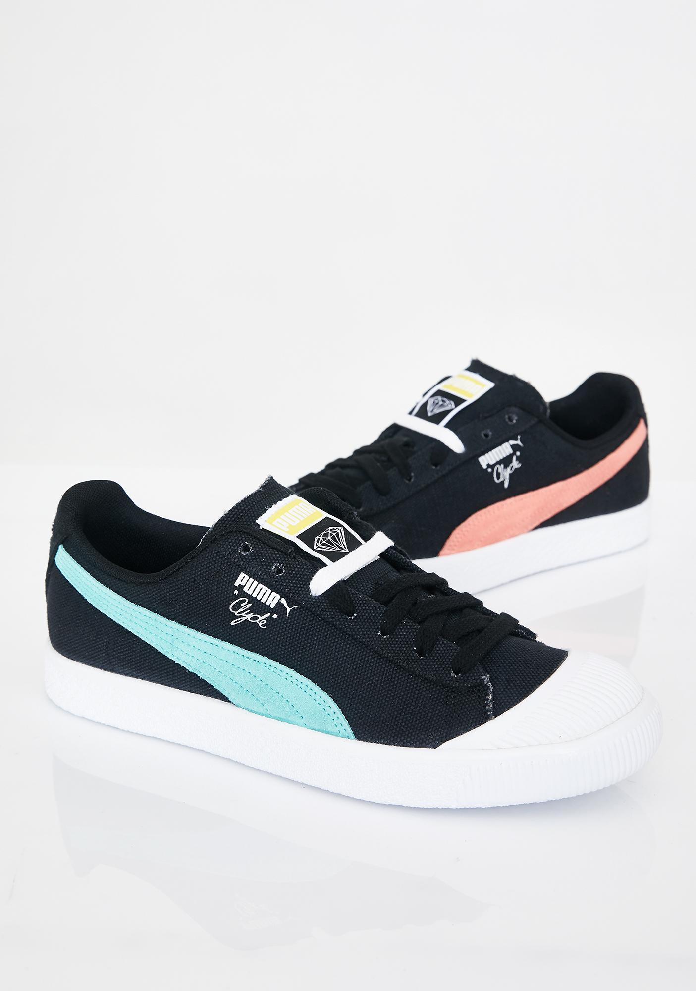 outlet store 76f80 b93d8 x Diamond Supply Co. Clyde Sneakers