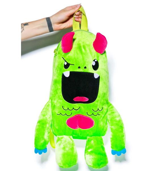 Iron Fist Tribe Plush Backpack
