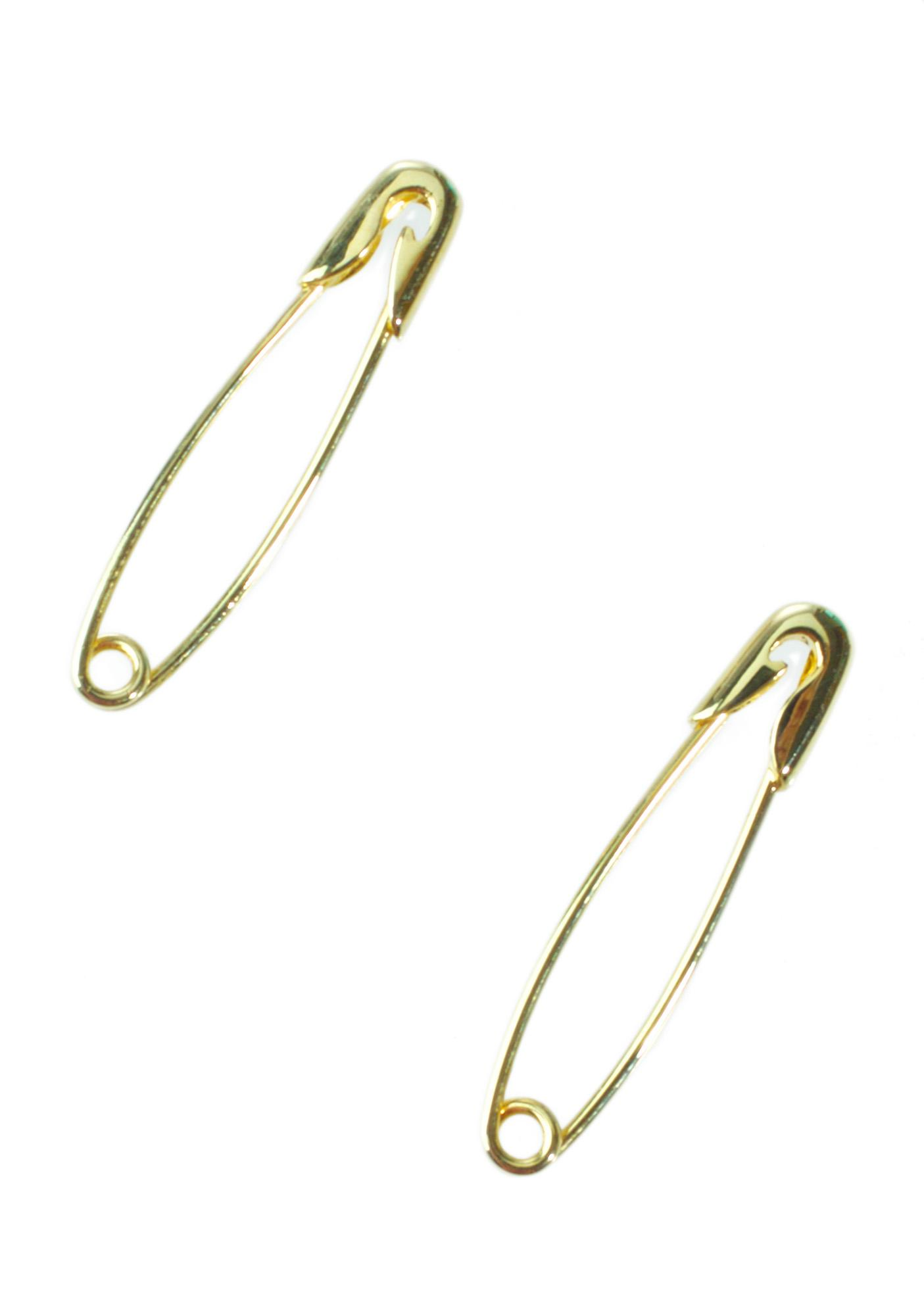 Eyland Jewellery Hera Safety Pin Earrings