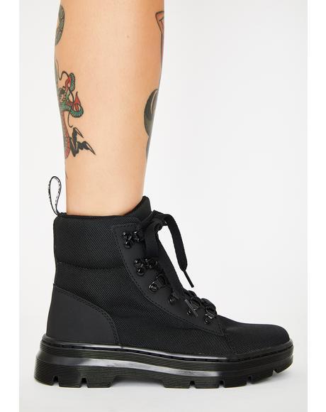 Women's Combs Combat Boots